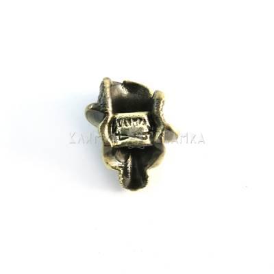 "Brass bead ""Molfar"""
