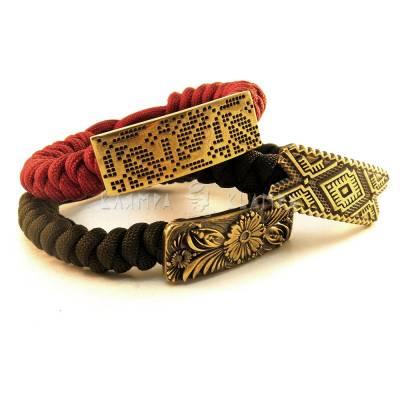 "Lanyard bracelet ""Сhamomile"""