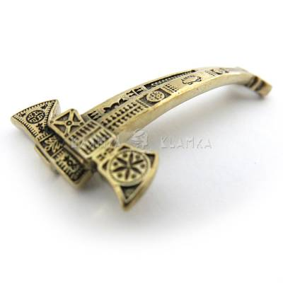 "Brass bead ""Double-blade bartka"""