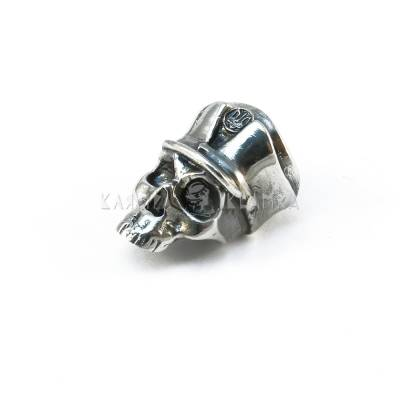 "Nickel silver bead ""Insurgent"""
