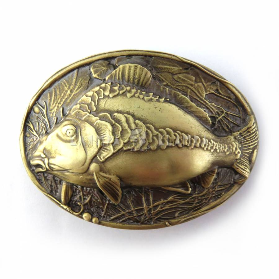 "Belt buckle ""Mirror carp"""