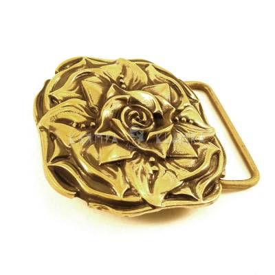 "Belt buckle ""Rose"""