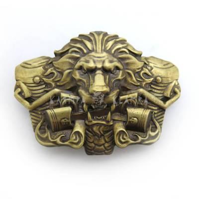 """Пряжка """"Вогняний лев"""""""