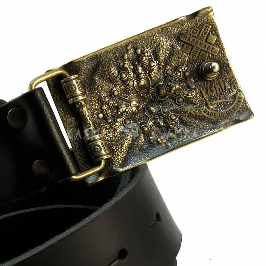 Шкіряний ремінь ручної роботи Едельвейс - купити в інтернет-магазині ... d1b3c3f66a757