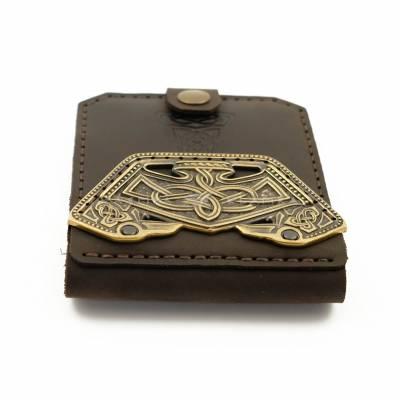 """Шкіряний гаманець """"Нормандський"""""""