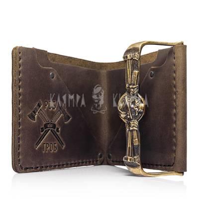 "Шкіряний гаманець ""Мольфар"""